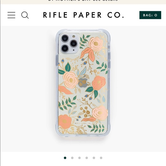 Rifle Paper Co. Clear Colette iPhone Case 📱